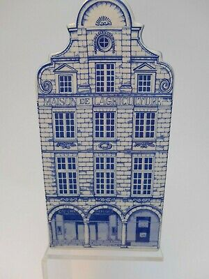 Blue Pottery Townhouse by Images de France, Arras