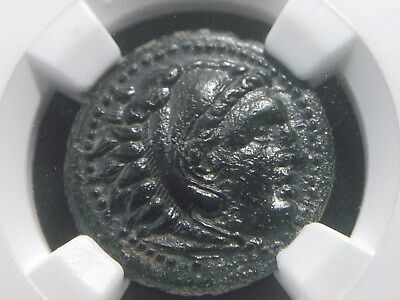 Greek Coin AE17 Alexander III The Great  336-323 BC Lifetime issue NGC Ch AU
