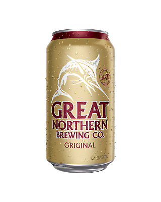 Great Northern Brewing Company Original Lager Cans 30 Block 375mL Beer case of 3