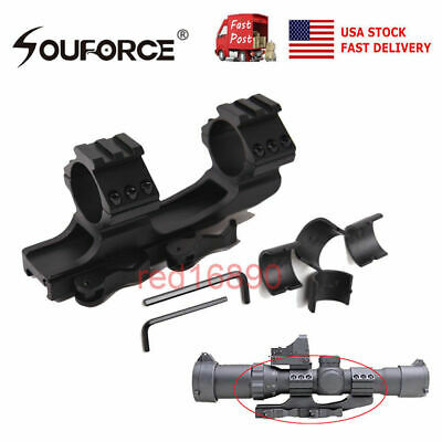 """US Quick Release 1"""" 30mm Ring 20mm Picatinny Rail QD Scope Mount for rifle Sight"""