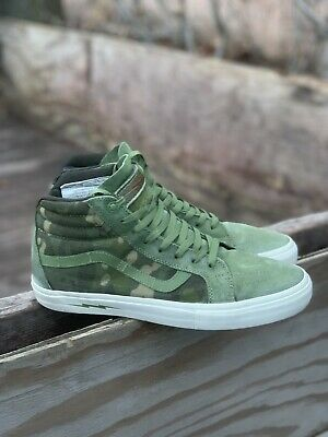 1f9f147d36 VANS X DEFCON Sk8-Hi Notchback Pro Multicam Jungle Tropic Sz 12 ...