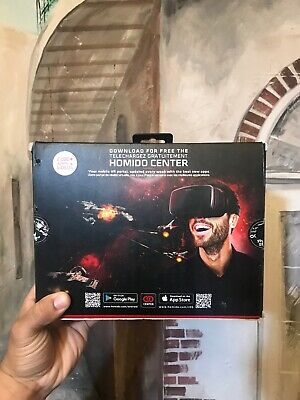 Homido V2 VR Virtualy Reality Headset for Smartphones iOS Android Gaming NEW