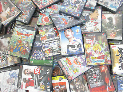 WHOLESALE Playstation 2 Lot 50 FREE Shipping Video Game Sony 3192p2