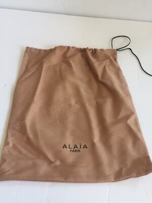 8b0861382d197 AUTHENTIC ALAIA DUST Bag 13x15 Inches With Drawstrings