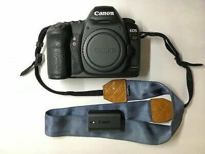 Canon EOS 5D Mark II 21.1MP Digital SLR Camera (Body & Battery) LOW SHUTTER