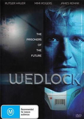 Wedlock - Rutger Hauer -  New & Sealed  Region 4 Dvd Free Local Post