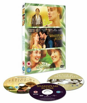 Pride And Prejudice/Sense And Sensibility/Shakespeare In Love [DVD] By Emma T.