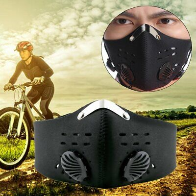 Anti Dust Motorcycle Bicycle Cycling Racing Bike Ski Half Face Mask Fil RD