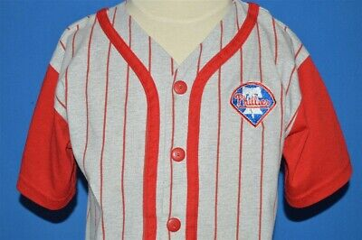 vintage 90s PHILADELPHIA PHILLIES MLB BASEBALL JERSEY PATCH t-shirt TODDLER 4T