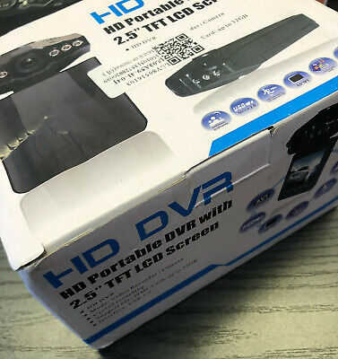 """HD DVR Portable Dashcam 2.5"""" TFT LCD Recorder Supports SD Card Up To 32Gb - Y99"""