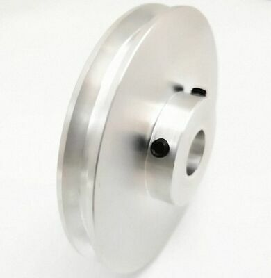 8 to 26mm Bore CAPT2011 U-Groove Flat Pulley Select Size 60mm Diameter