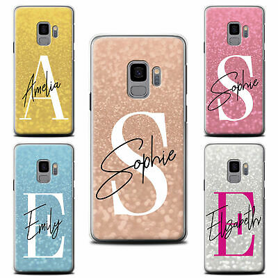 Personalised Custom Faded Glitter Look Effect Phone Case For Samsung Cover