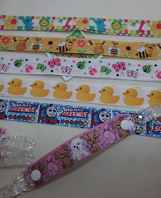 MITTEN CLIPS x 1 pr Bees Ducks Cute dogs girls boys kids glove savers xmas gifts