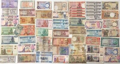64 x Mixed African Banknote Collection - AFRICA.  (2685)