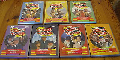 ONLY FOOLS AND HORSES THE COMPLETE COLLECTION All  7 SERIES 9 X DVDS