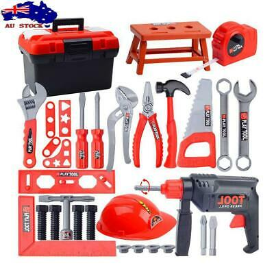 139d22cff Children's Toolbox Kit Simulation Repair Tool Drill Screwdriver House Play  Toys