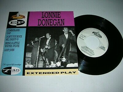 LONNIE DONEGAN - CUMBERLAND GAP + 3 MORE..4.TRACK (45rpm) E.P IN MINT CONDITION