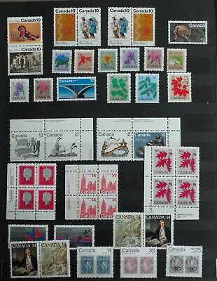 CAN  #   lot Canada unused   MNH