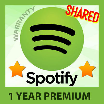 🔥DISCOUNTED🔥 Spotify PREMIUM - SHARED ACCOUNT - 1 YEAR + FULL WARRANTY