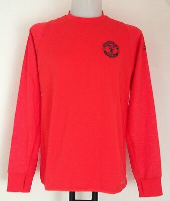 Manchester United Red Eu Training Top By Adidas Size Men's Medium Brand New