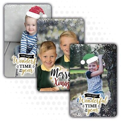 Personalised Photo Keepsake Card Wallet Purse Gift Memory Mum Dad *Father's Day*