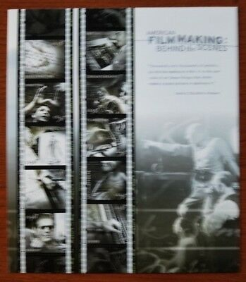 USPS 2003 American Film Making Behind the Scenes 37 Cent Stamps Sheet of 10
