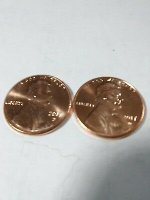 2017 P & D Uncirculated Lincoln Cent