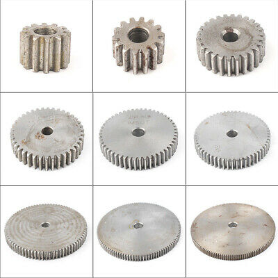 1 Mod 21T-30T Spur Gear Pinion Gear 45# Steel Outer Dia 23-32mm Thickness 10mm