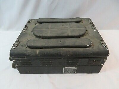 Vintage WW2 Signal Corps CG-43AAG Radio Transmitter Receiver General Electric