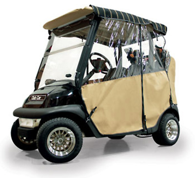 Club Car Precedent / Onward 3 Sided Over the Top Golf Cart Enclosure by Red Dot