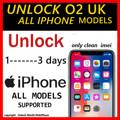 O2 Tesco UK official factory unlock code for iphone 7+ 7 6s+ 6s 6+ 6.... ALL MOD