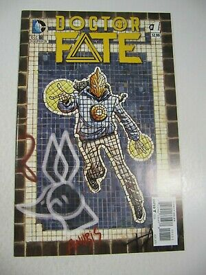 Doctor Fate Comic Book #1 (DC 2015) 1st Dr. Fate Khalid Nassour-Movie?  VF/NM