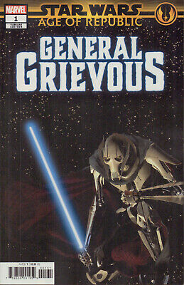 Star Wars: Age of the Republic - General Grievous(2019), 1:10 Variant Cover, new