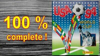 Panini Official Album Fifa World Cup Usa 1994 Ee.uu. Complete Reprinted Reimpres