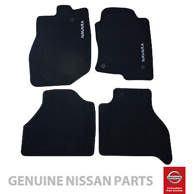 Genuine Fits Nissan Navara D40 2010 on Carpet Floor Mats Set x4 *KE7555X411