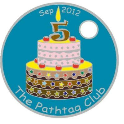 Pathtag Pathtags Geocoin Geocaching  #23522
