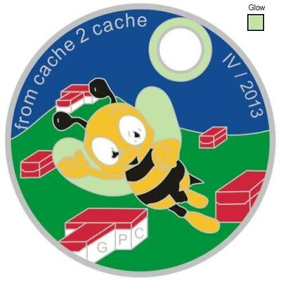 Pathtag Pathtags Geocoin Geocaching  #28936