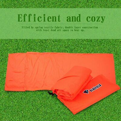 Mini Ultralight Width Envelope Sleeping Bag For Camping Warm Sleeping  WF