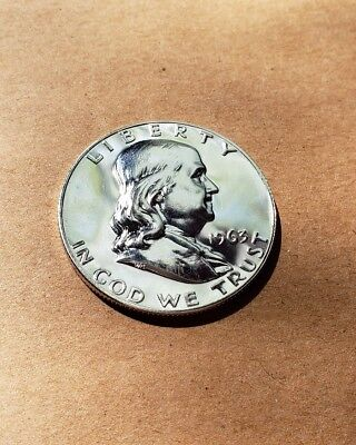 1963 50C (Proof) Franklin Half Dollar