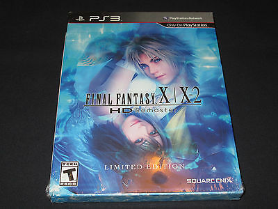 Final Fantasy X X-2 HD Remaster Limited Edition for PS3 - BRAND NEW + SEALED!