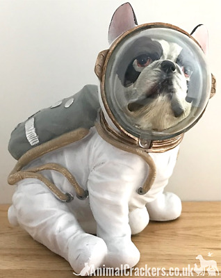 French Bulldog Astronaut Space Suit ornament figurine decoration Frenchie gift