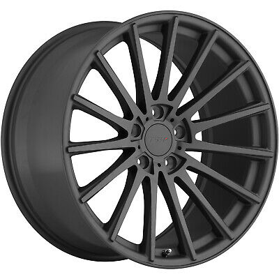 TSW Chicane 19x8.5 5x108 (5x4.25) +43mm Gunmetal Wheels Rims 1985CHC435108G72