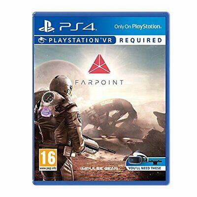 Farpoint Game PS4 (PSVR Required) GAME NEW