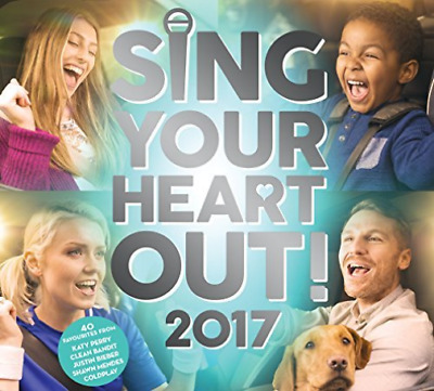 Various Artists-Sing Your Heart Out 2017 CD NEW