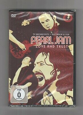 (DVD) PEARL JAM - Love And Trust / NEW