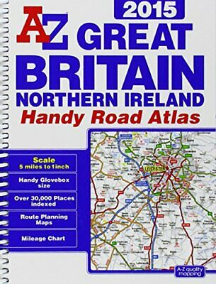 A-Z Great Britain Handy Road Atlas 2015 (Geographers ... by Geographers A-Z Map