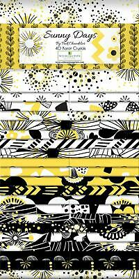 Quilting Fabric Jelly Roll - Sunny Days - Wilmington X 40