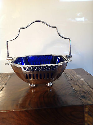 Vintage Deco Silver Plated  bon bon Pastries Nuts or sweetie dish Alex Clark