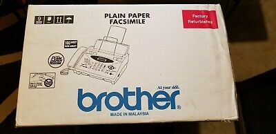 BROTHER FAX MACHINE #EPPF775 LOWEST PRICE Factory refurbished-never used, sealed