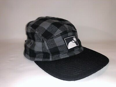d64f3b60a702a New The Hundreds Skate Docens 4-Panels Camping Mens Strap Snapback Hat One  Size